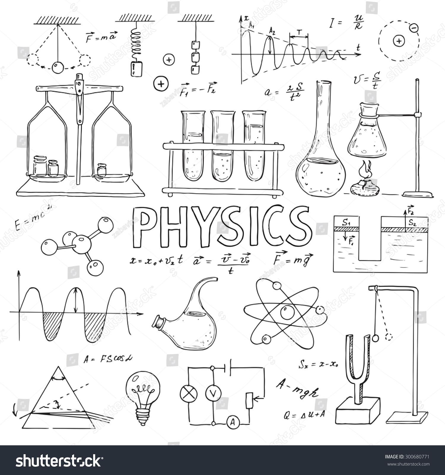 School Laboratory Equipment Diagrams