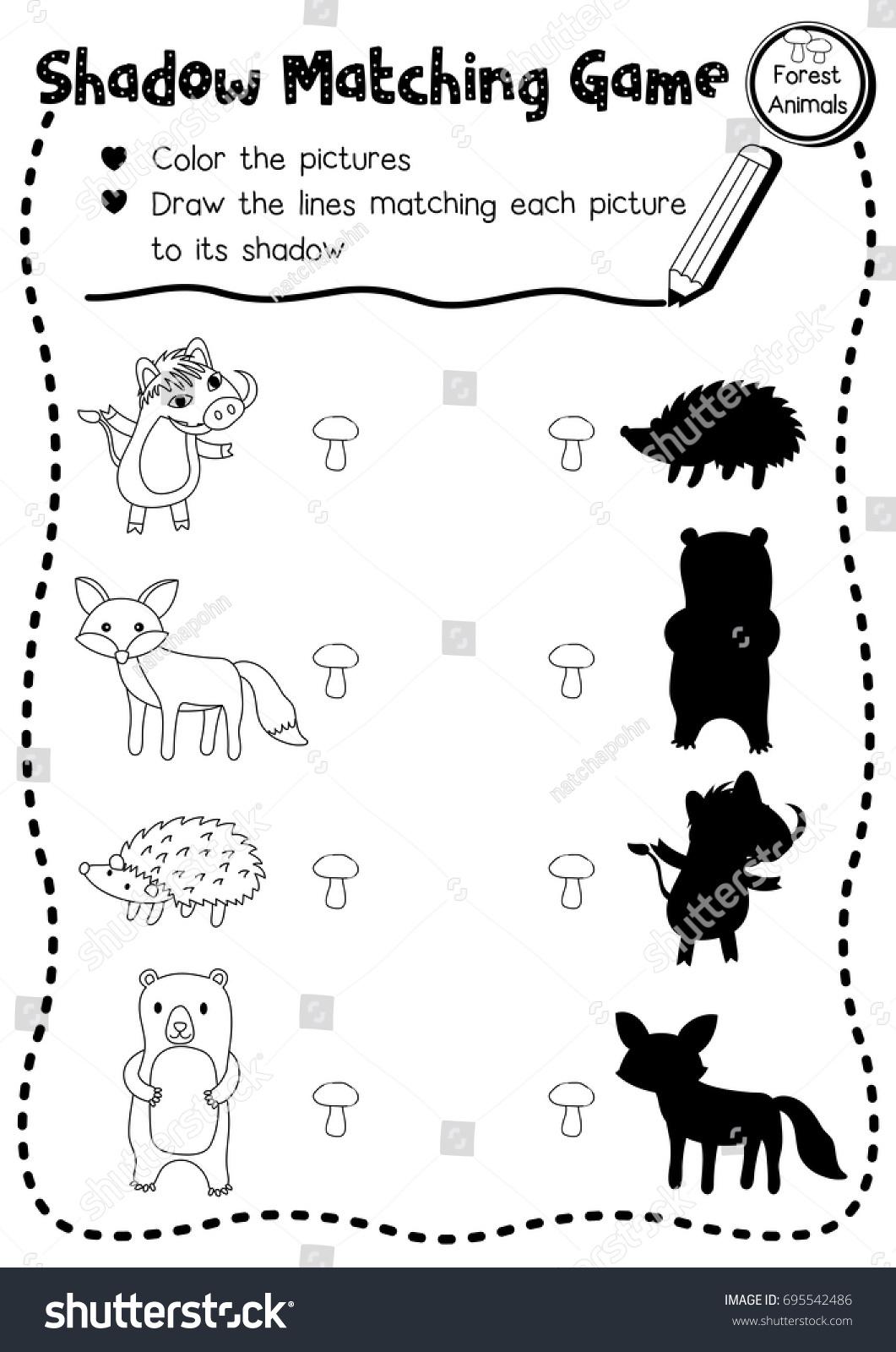 Igarni Matching Preschool Activities Worksheets