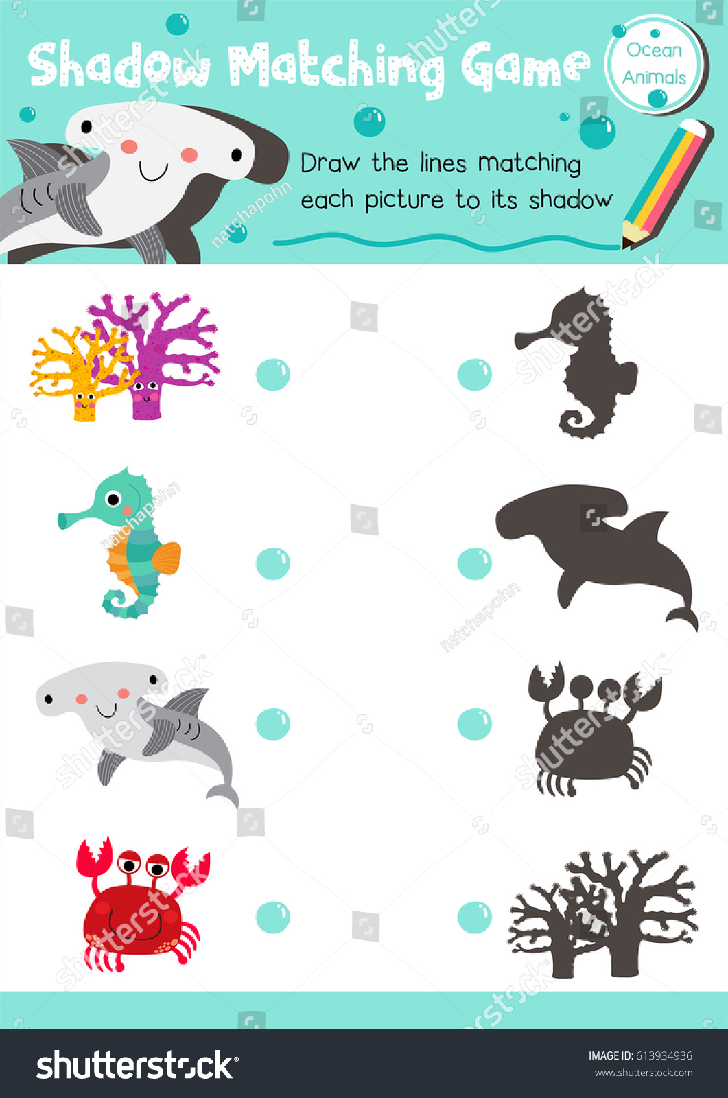 Preschool Shadow Worksheet Preschool Best Free Printable