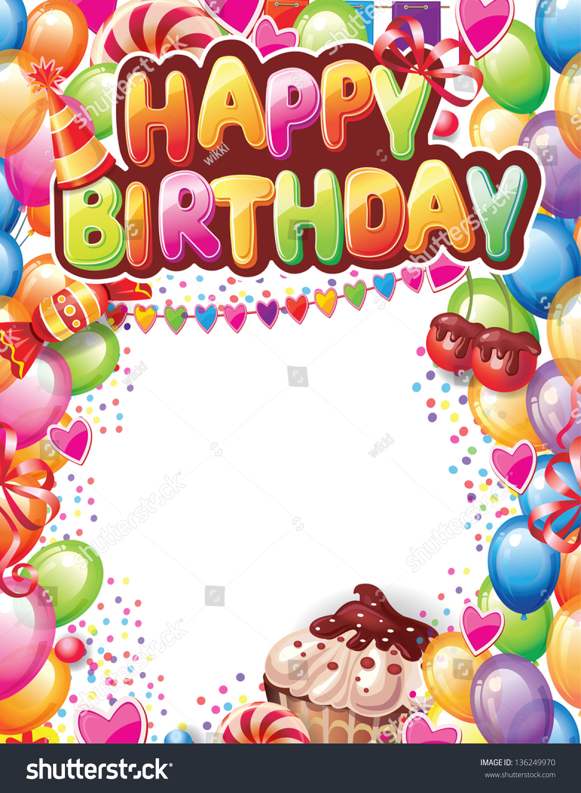 Birthday Template Word happy birthday sunshine happy birthday – Word Birthday Template