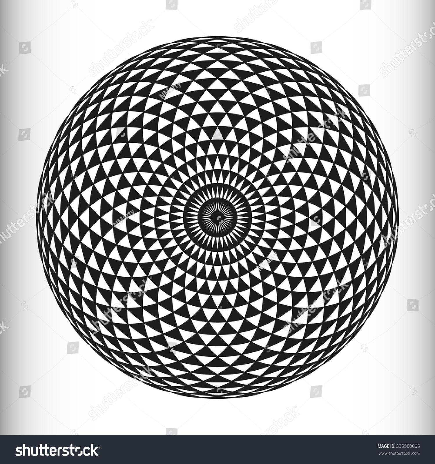 Circular Pattern Geometric Mandala Mathematical