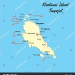 Tuapejat Map Mentawai Island West Sumatra Stock Vector Royalty Free 775305931