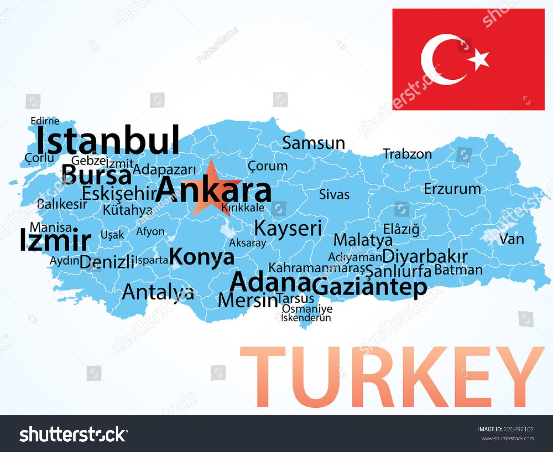 Turkey Largest Cities Population Five