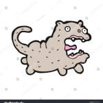 Ugly Cat Cartoon Stock Vector Royalty Free 67473703