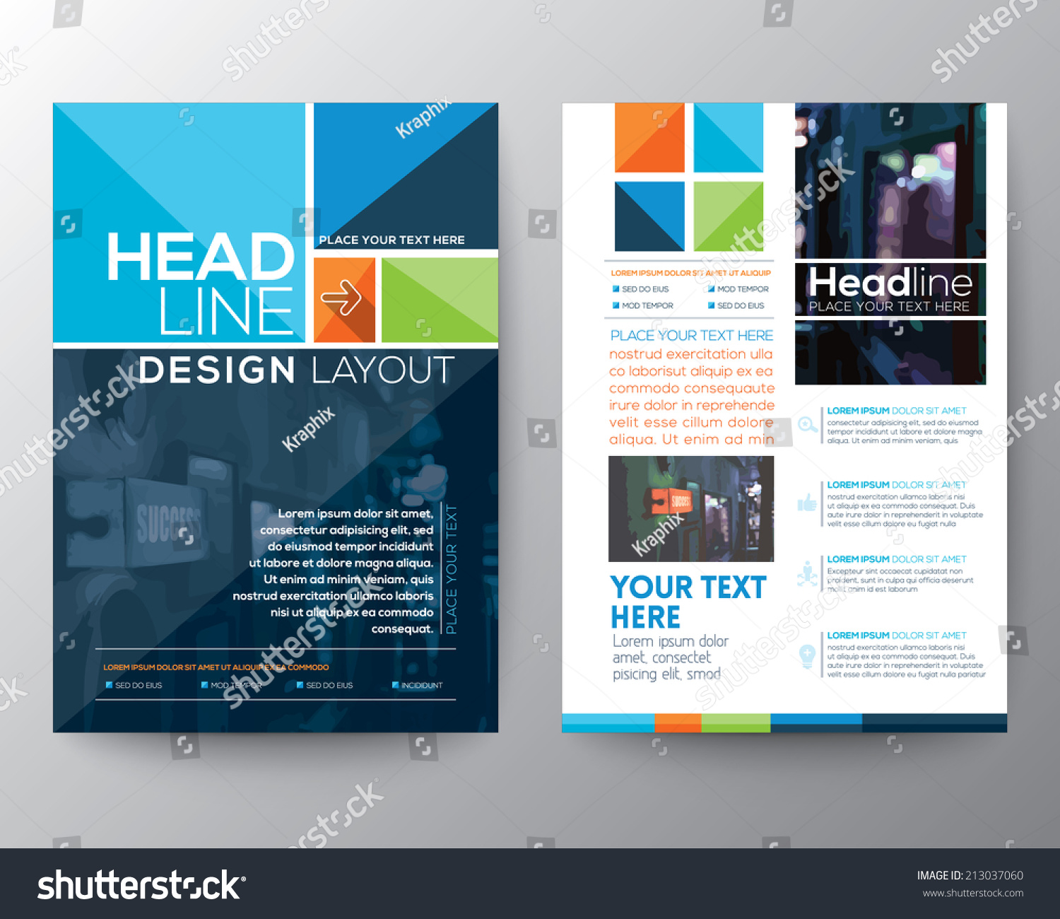 Flyer Layout Template. flyer backgrounds lizenzfreie bilder und ...