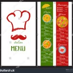 Vector De Stock Libre De Regalias Sobre Vector Design Menu Italian Restaurant Food393542770