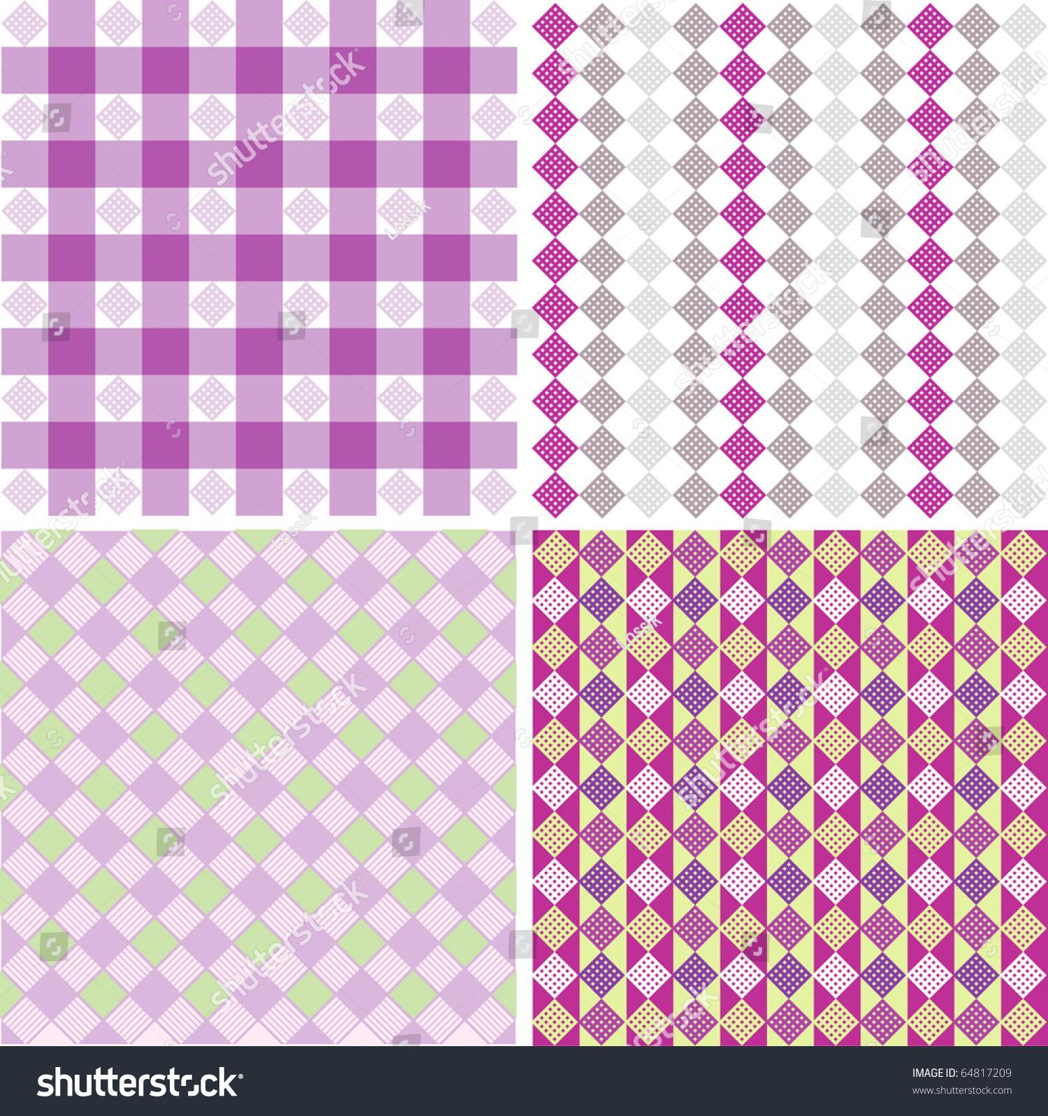 Vector Element Of Geometric Shapes Diamond Square Line