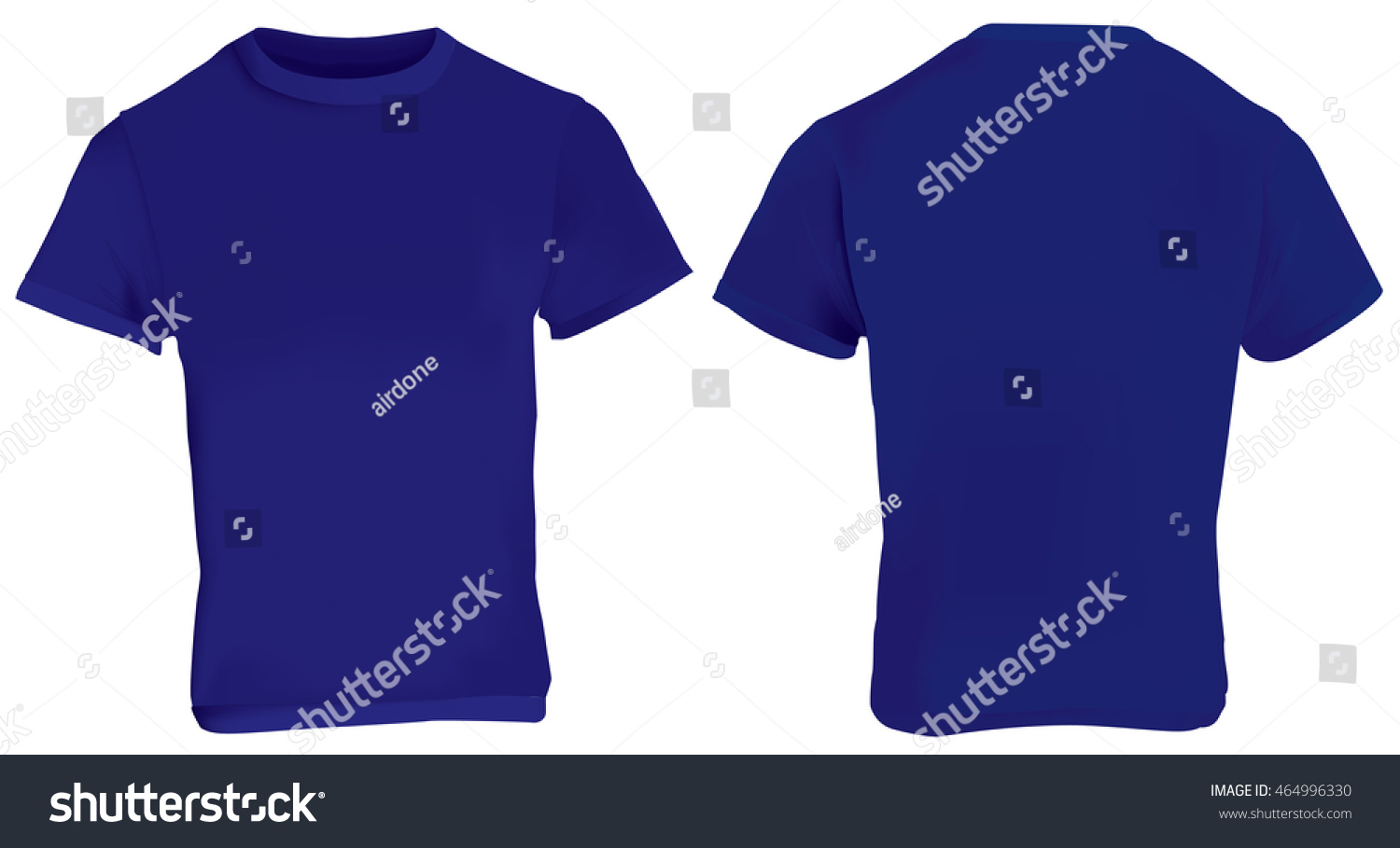 blank blue t shirt front and back wwwimgkidcom the