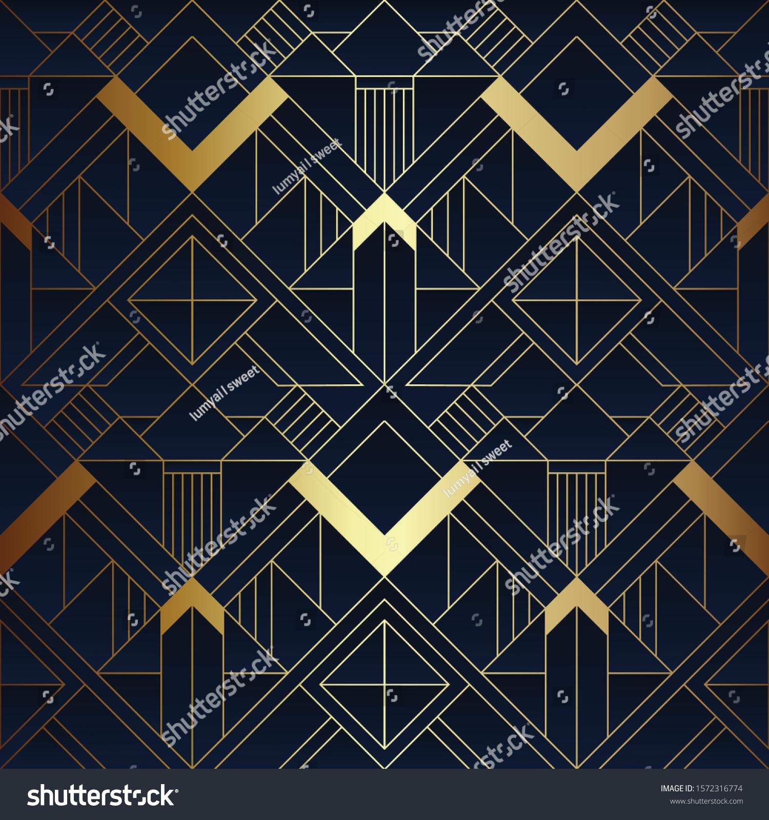 https www shutterstock com image vector vector modern geometric tiles pattern luxury 1572316774