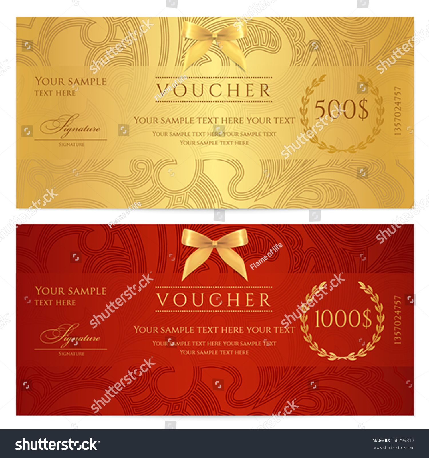 Gift Card Design Template 25 free gift voucher templates gift – Sample Gift Card
