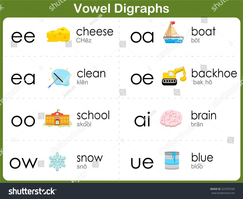 Long Ee Ea Vowel Worksheet