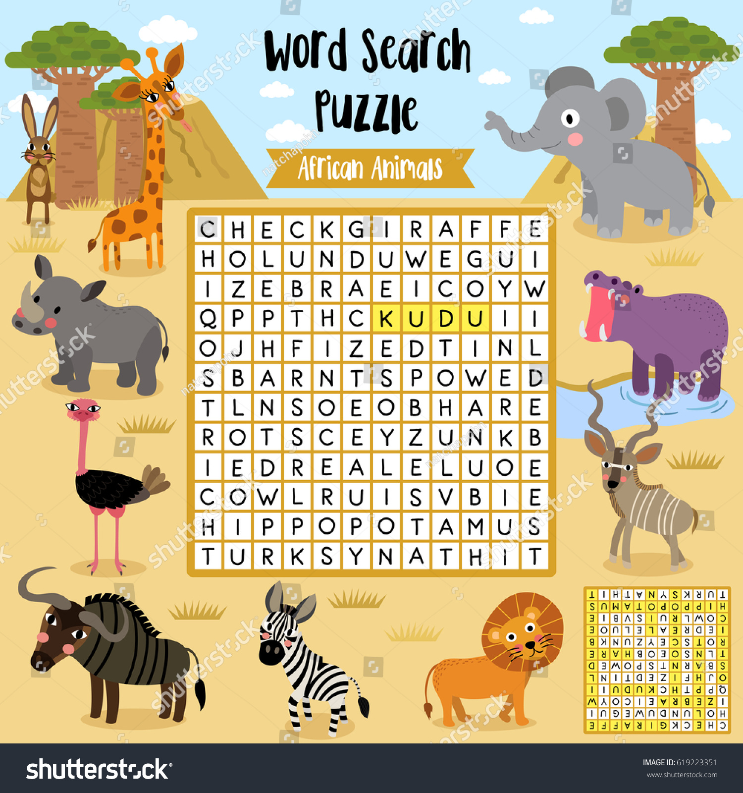 Vector Desert Worksheets For Preschool Vector Best Free