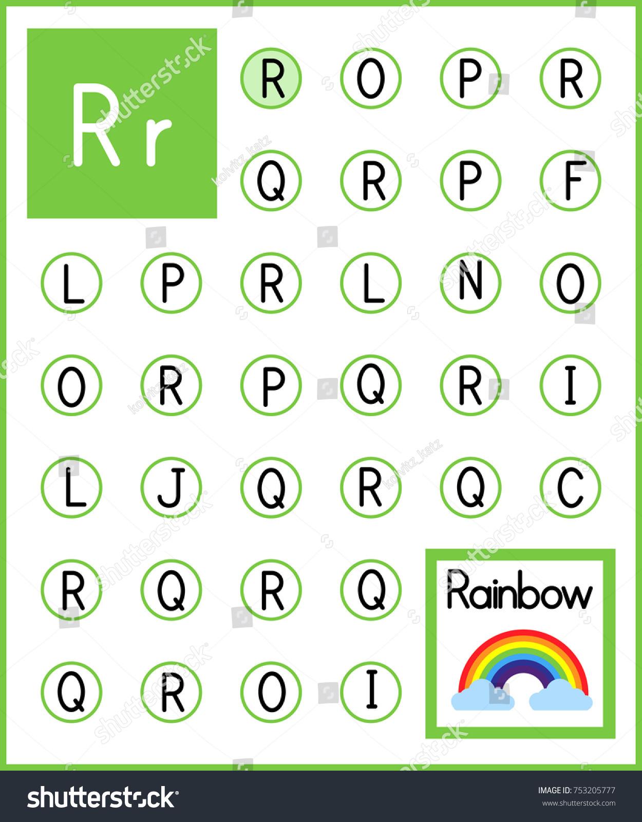 Letter R Worksheet