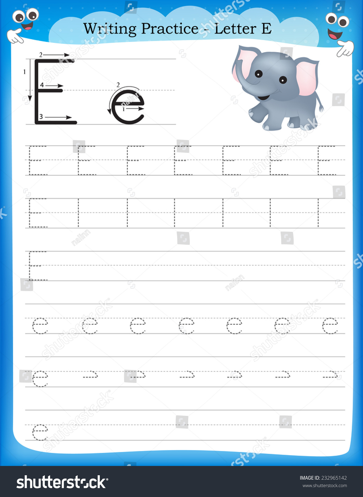 Beautiful Let39s39 Draw Simple Lines Worksheet Stock