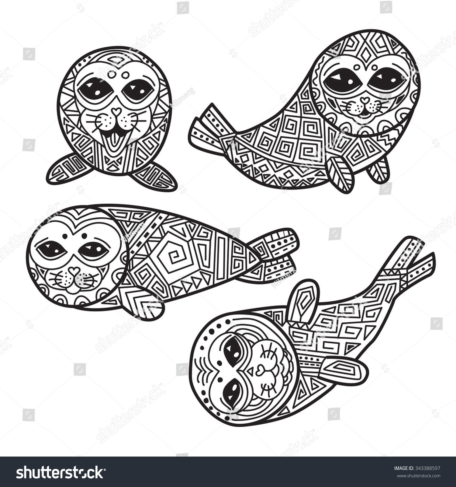 baby seal coloring pages colorcm duckdns org