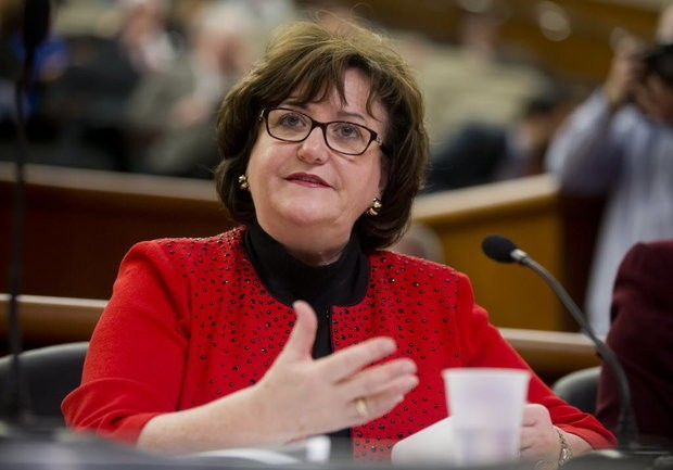 """State Education Commissioner MaryEllen Elia says the revised Common Core curriculum standards will now be known as the """"Next Generation Learning Standards."""" (Associated Press)"""