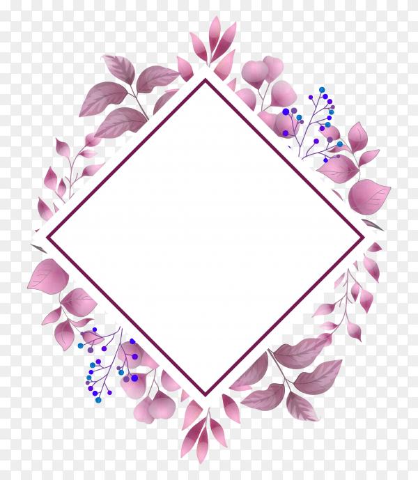 watercolor wedding invitation floral