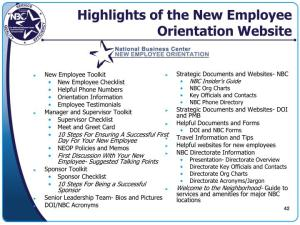 New Employee Orientation Presentation new hire orientation presentation kieco new hire