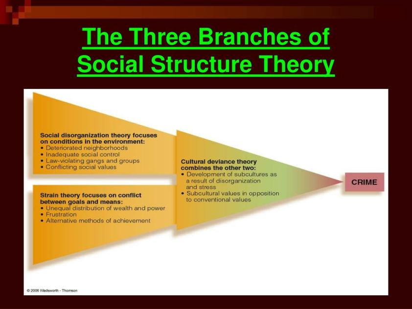 PPT - Chapter 6 Social Structure Theory PowerPoint ...