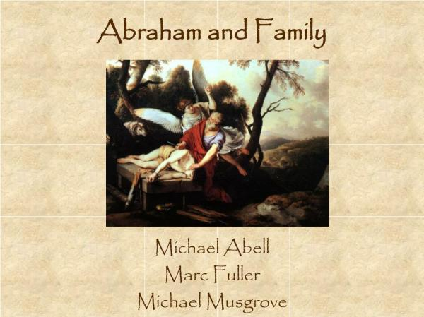 abraham and family # 38