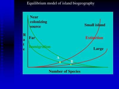 PPT - Island Biogeography and Meta-population theory ...
