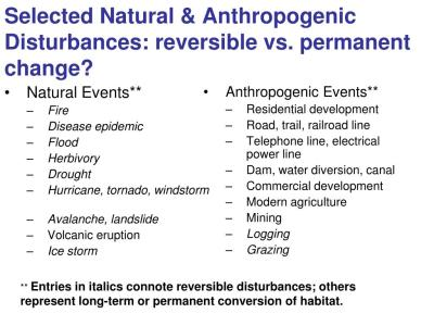PPT - Restoration Ecology and the Conservation of ...