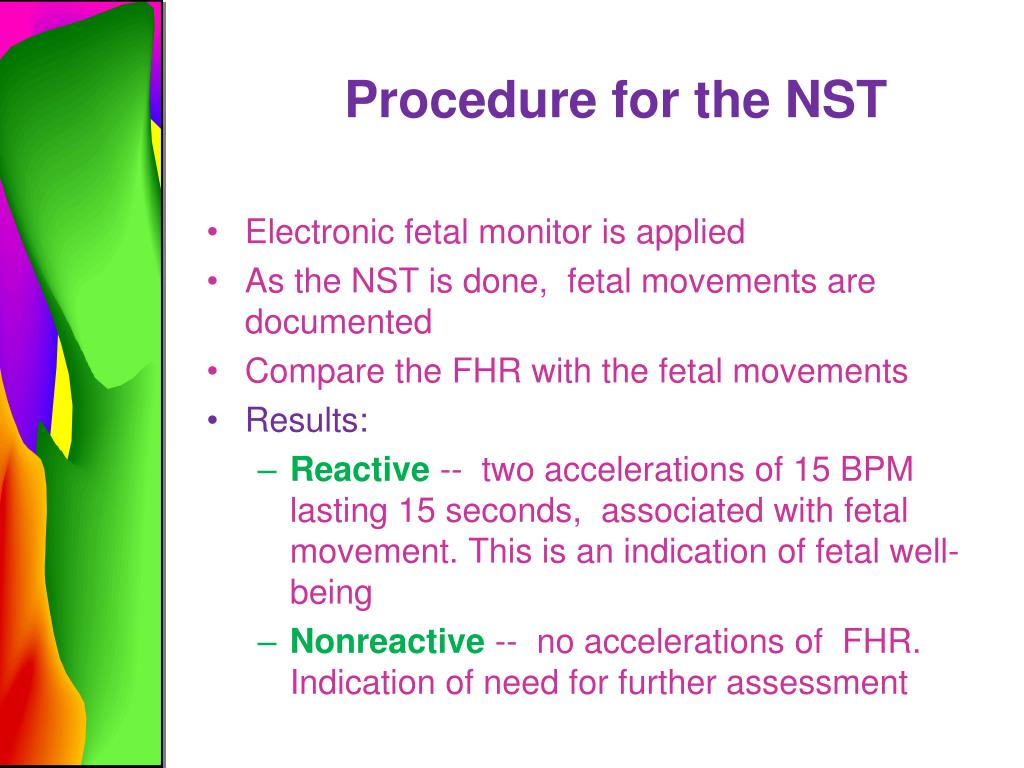 Non Stress Procedure Fetal Test