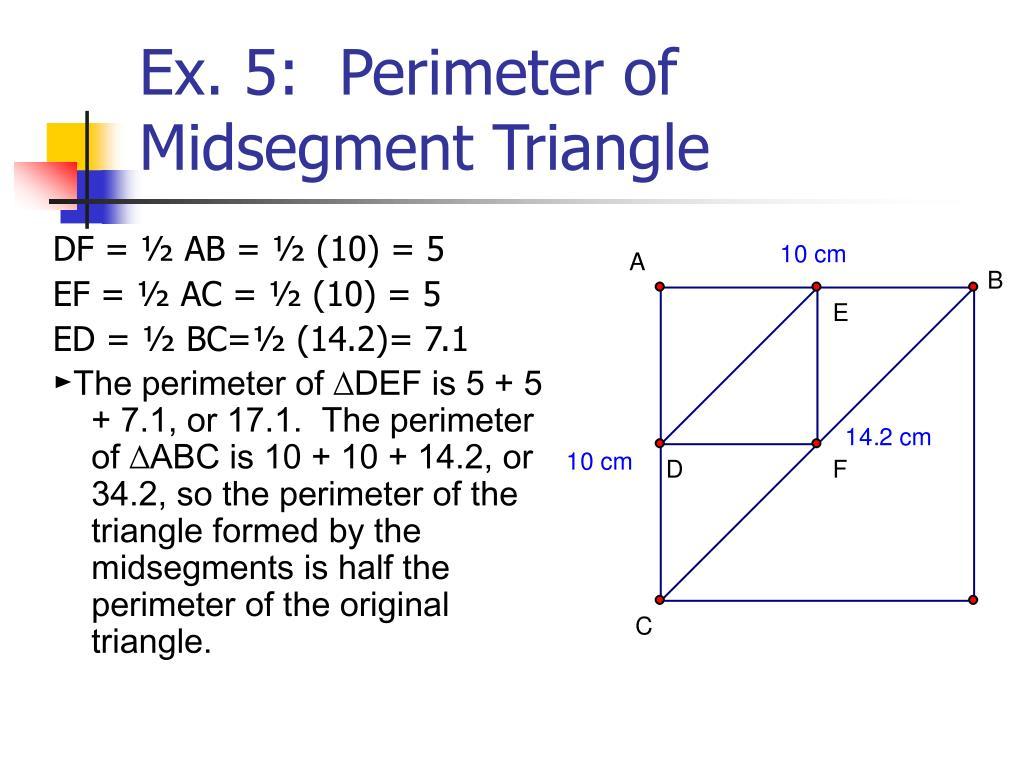 Worksheet Midsegment Of A Triangle Worksheet Grass Fedjp