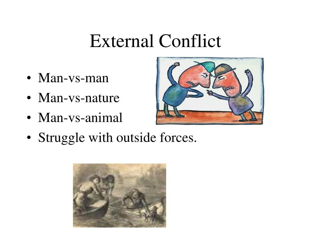 External Internal Literature Conflicts And
