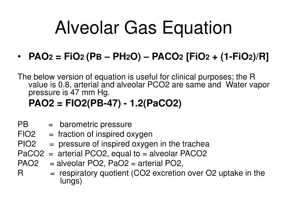 Oxygen Gas Equation For Oxygen Gas