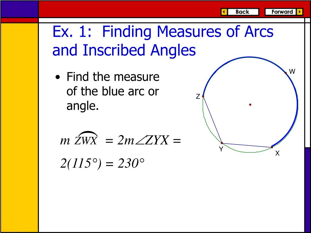 How To Solve Inscribed Angles In A Circle