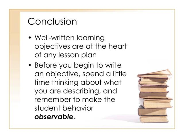 PPT - Writing Behavioral Objectives PowerPoint Presentation, free