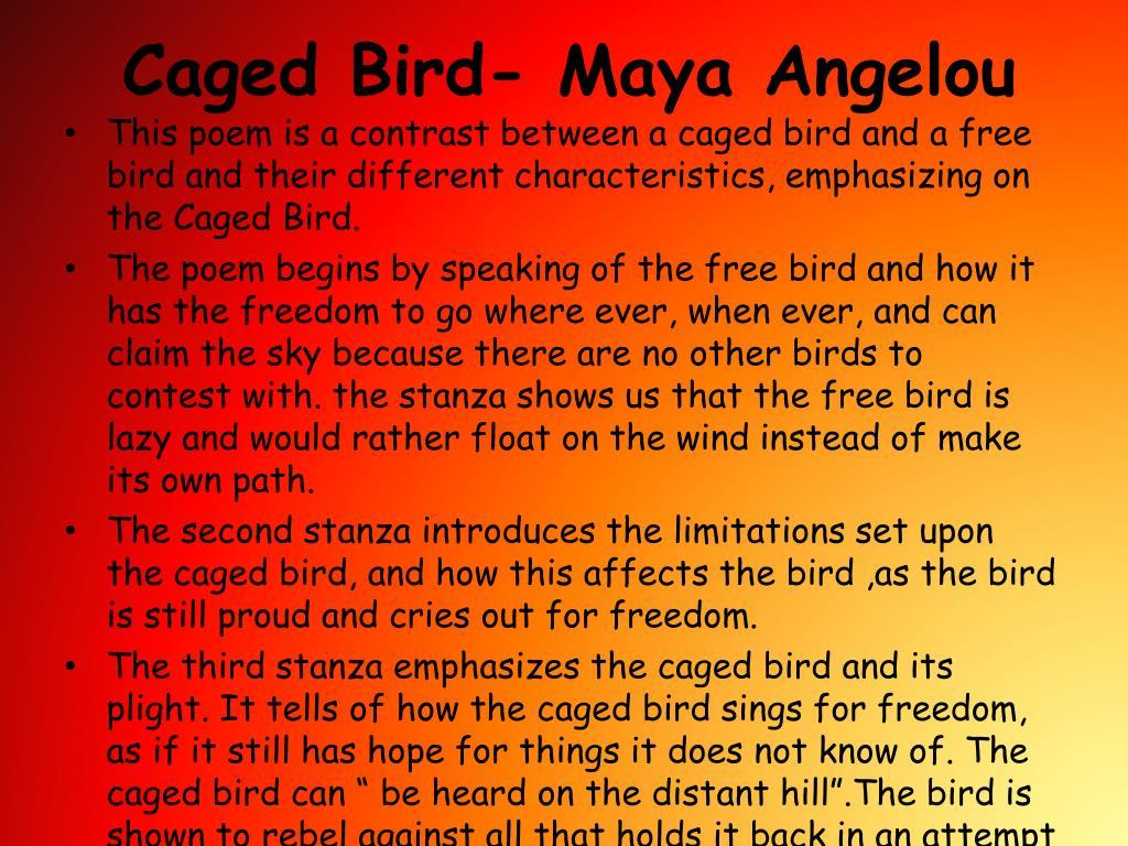 Maya Angelou Rhyming Poems