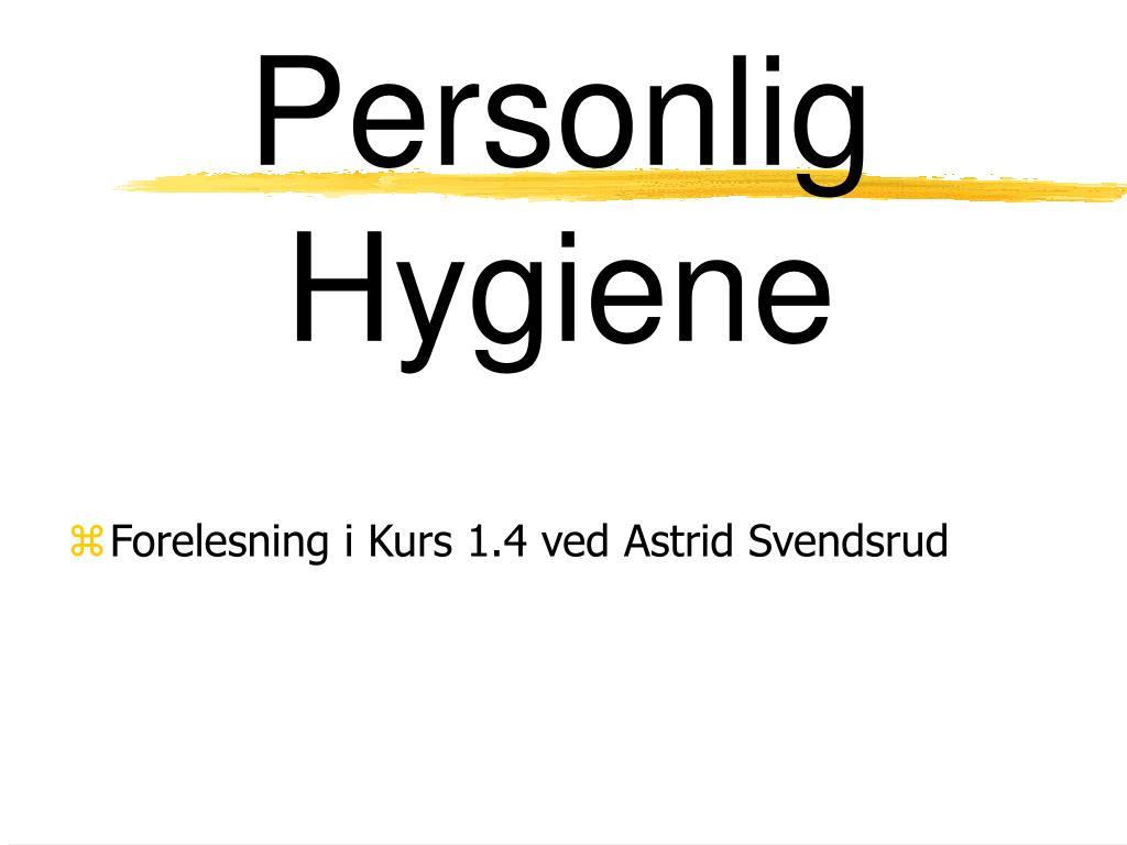 Personal Hygiene At Work | Wiring Diagram Database