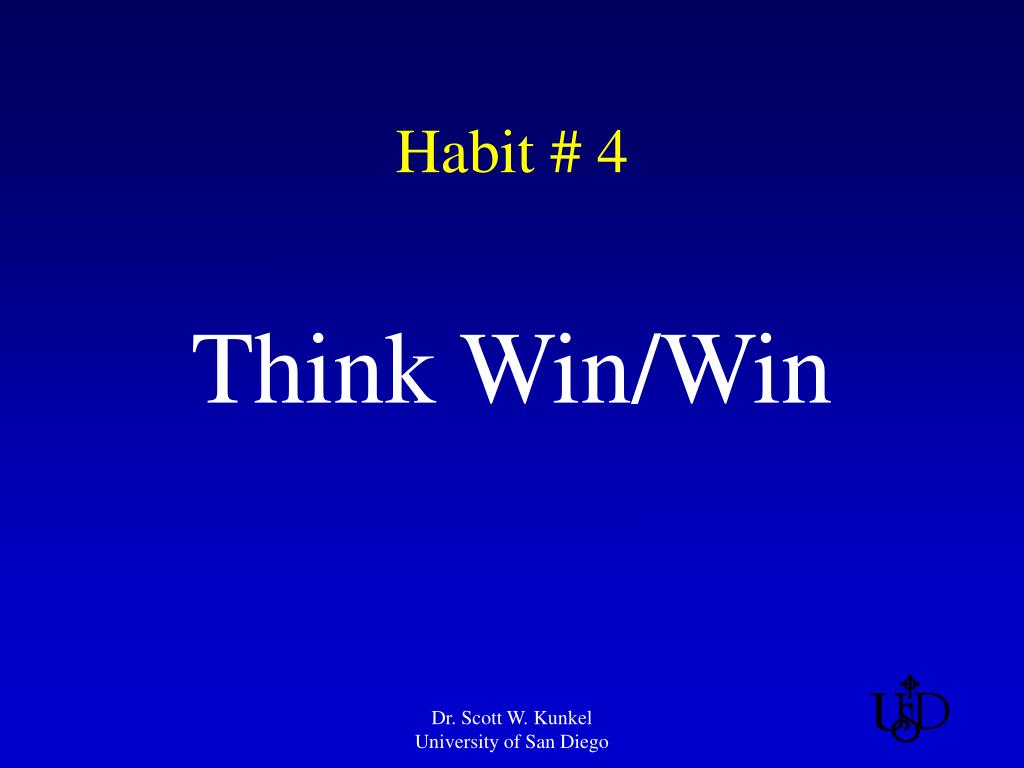 Habit 4 Pictures To Pin