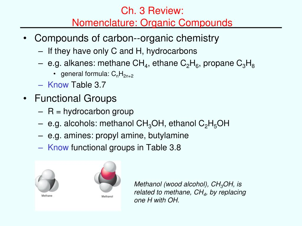 How To Name Organic Compounds