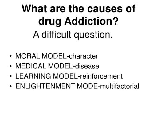 Causes Of Drug Addiction Pictures to Pin on Pinterest ...