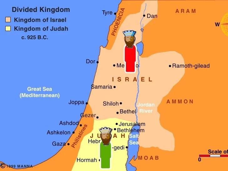 Dates Kings Israel