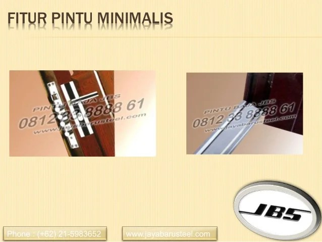081233888861 Jbs Pintu Rumah Minimalis 2 Pintu Besar Kecil Pintu