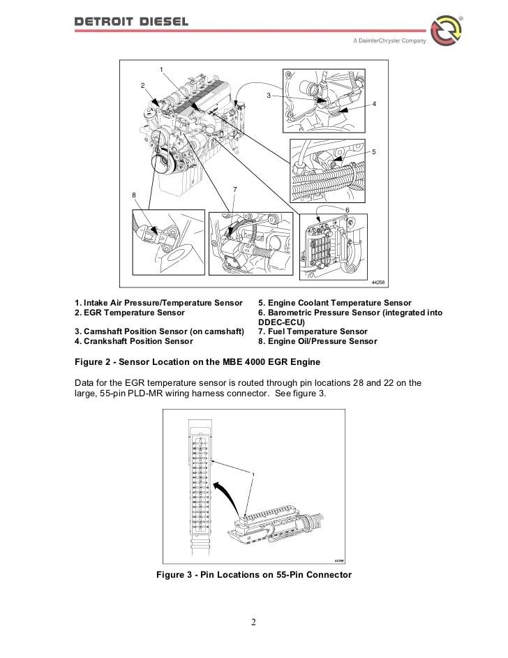 Detroit Sel Ddec V Ecm Wiring Diagram. Wiring. Automotive Wiring Diagram