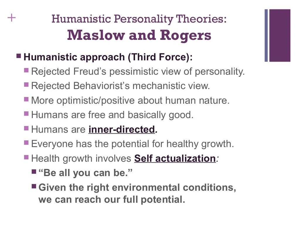 1 Theories Of Personality