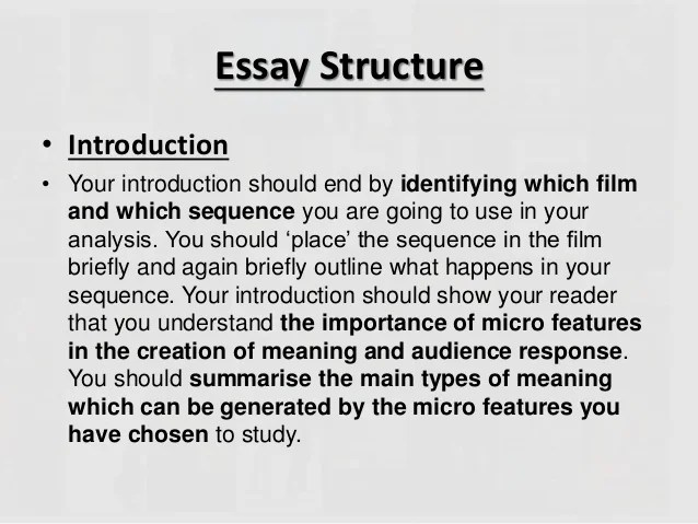 Film critical essay sample – Critical Analysis Template