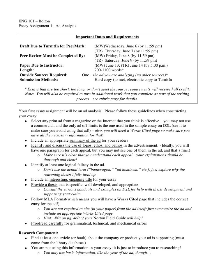 Analysis Essay Literary Analysis 10+ Analysis Essay Examples ...