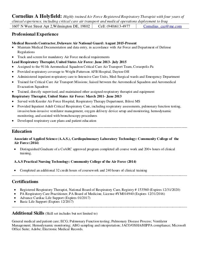 respiratory therapy resume stonevoices co