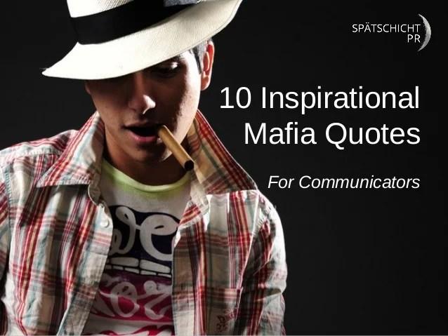 Quotes Mob Funny Italian