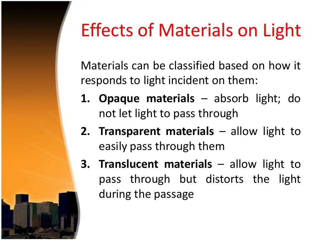 10 Properties Of Light