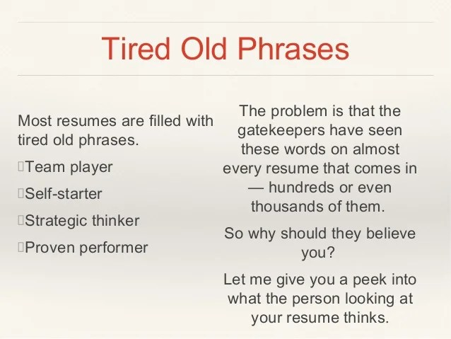 Phrases For Resumes are you using action words verbs or phrases – Complaint Words