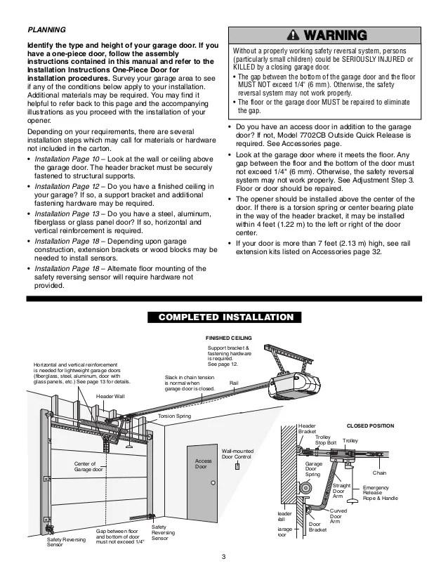 Image Result For Chamberlain Garage Door