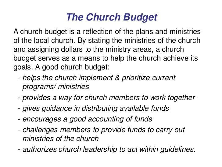 Church Budget Template church budget template excel sample – Church Budget Template Example