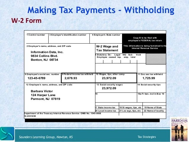 W 4 Employee Withholding Form